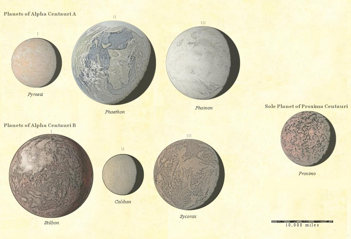 R.D.D. Nickel Atlas - Alpha Centauri System