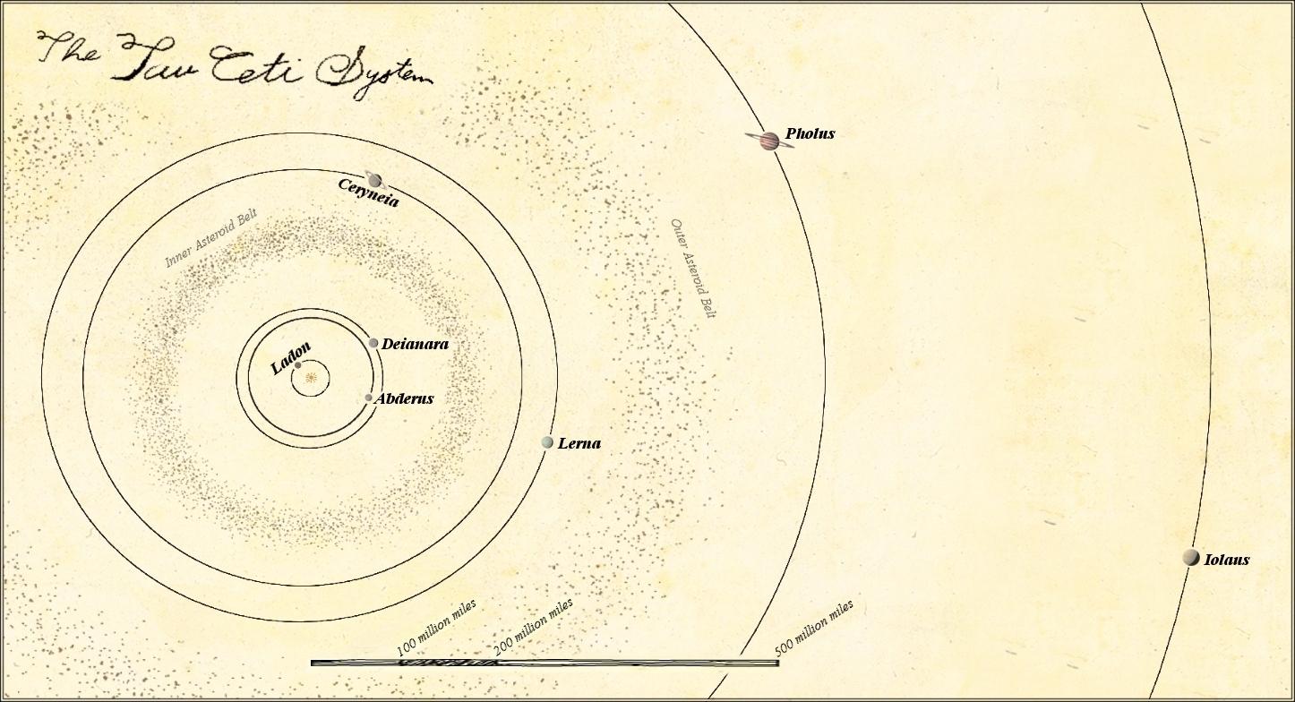 tau ceti solar system - photo #11